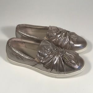 Yellow Box Wendie Silver Loafers Women 9 M
